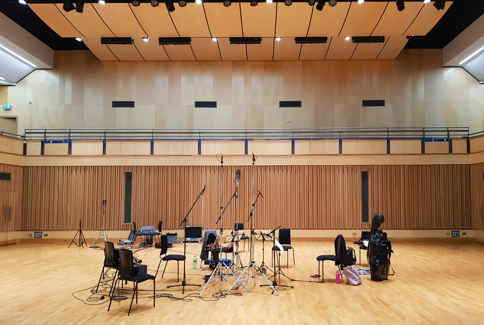 Recordings on the Saffron Hall stage