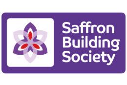 Saffron Building Society logo.